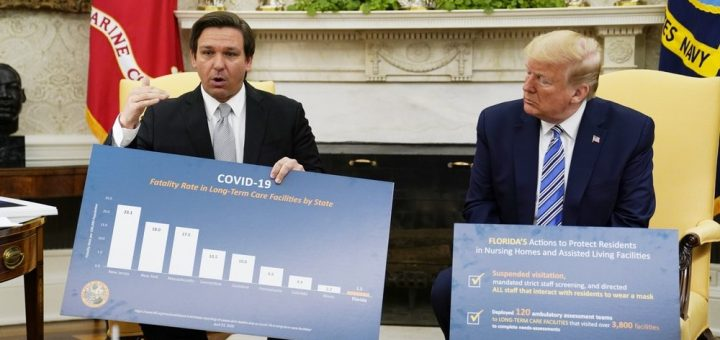 佛州宣布5/4起重开部分商业 但这三个郡不行
