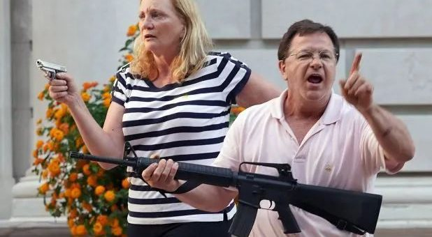 逆转!擅闯美国夫妇私人领地,9名BLM示威者被传唤